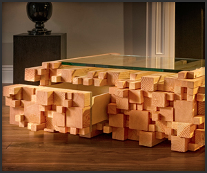 Logpile Coffee Table