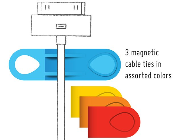 MOS Magnetic Cable Mount