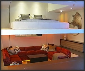 Apartment By Simon Woodroffe Home Crux Yo Home Futuristic Apartment
