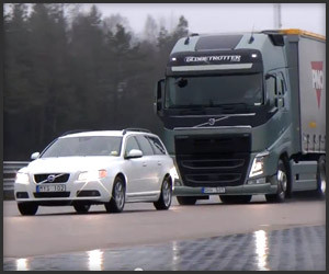Volvo FH Emergency Braking