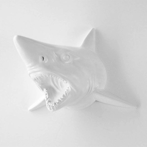 Faux Taxidermy Shark