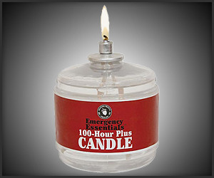 100-Hour Emergency Candle