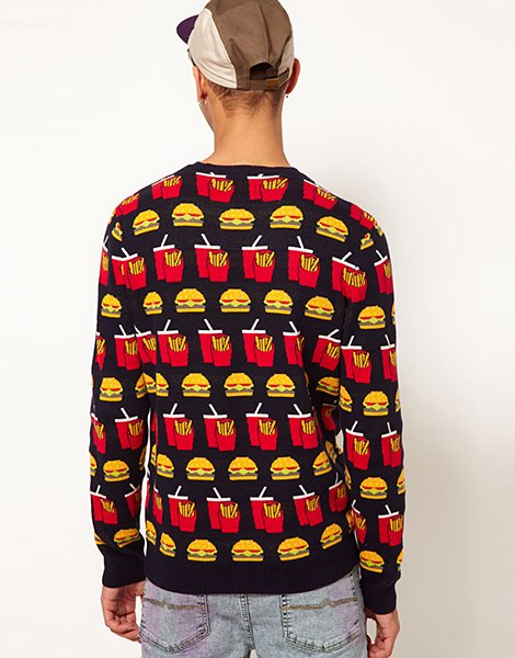 Burger and Chips Jumper