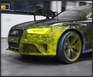Audi: Paintball Duel