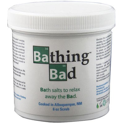Bathing Bad Toiletries