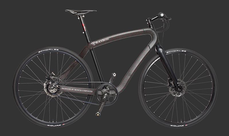 Blackbraid Bicycle