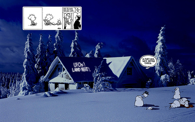 Calvin & Hobbes in Our World