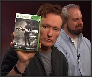 Conan Plays Tomb Raider