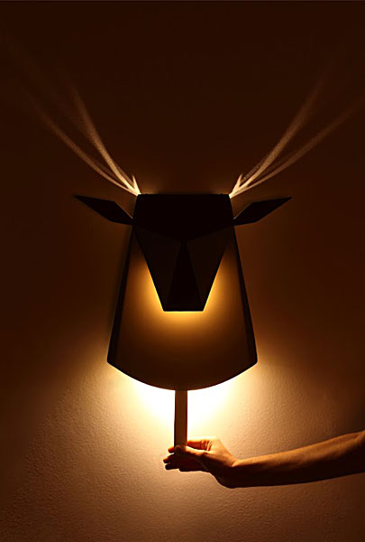 Pop-Up Deer Nightlight