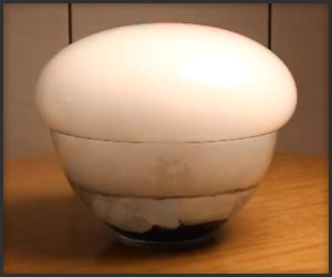 Giant Dry Ice Bubbles