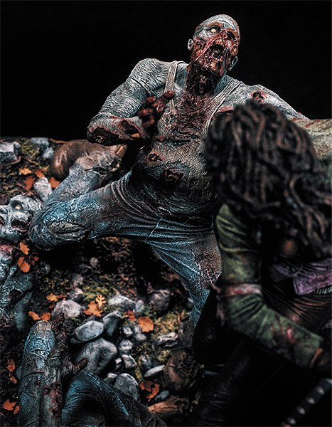 Michonne Resin Statue