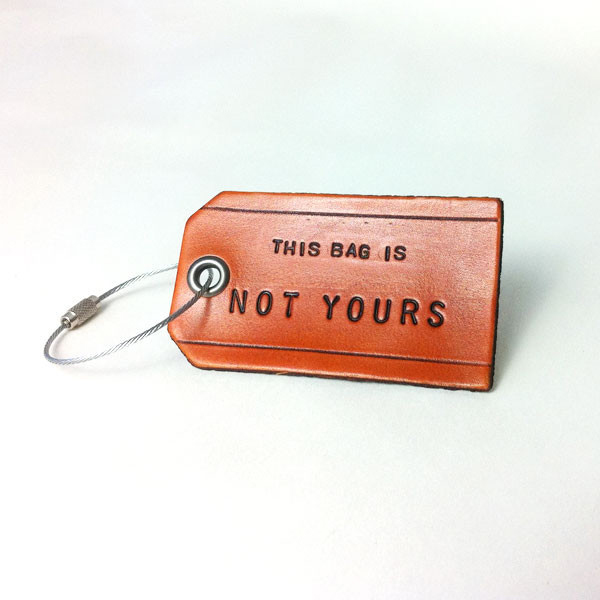 Owen & Fred Leather Tags