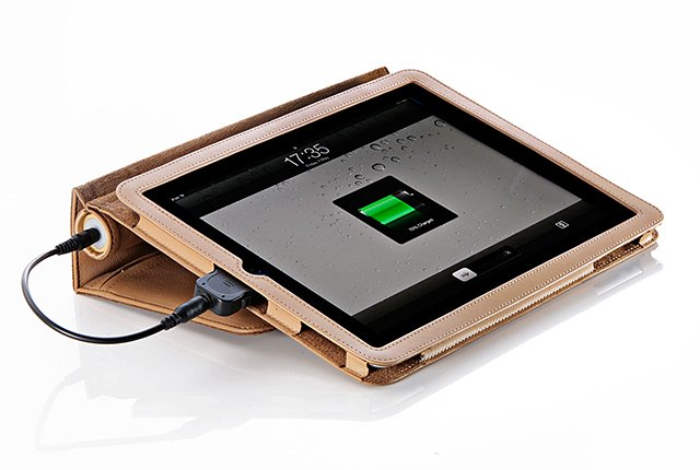 Pebble Folio iPad Battery Case