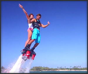 Flyboarding in Hawaii