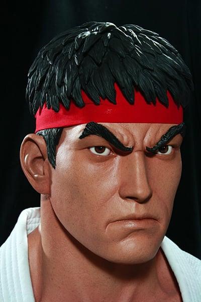 Ryu/Evil Ryu Life-size Bust