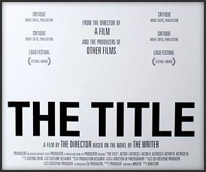 THE TITLE Poster