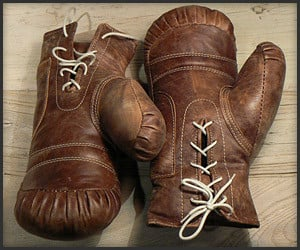 Vintage-Style Boxing Gloves