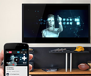 YouTube App: Send to TV