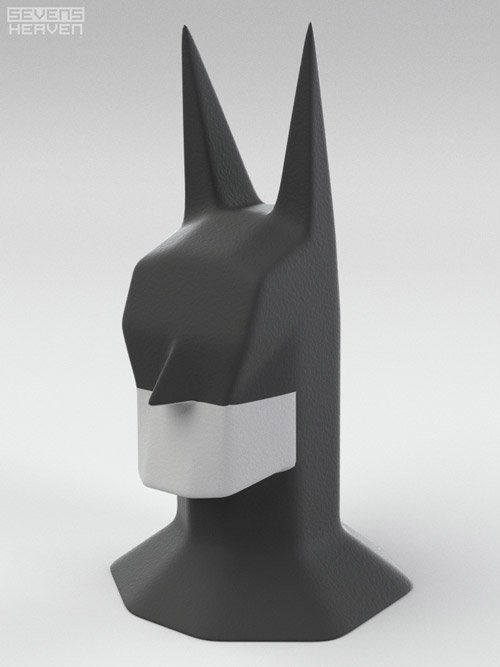 Batman Head Sculpture