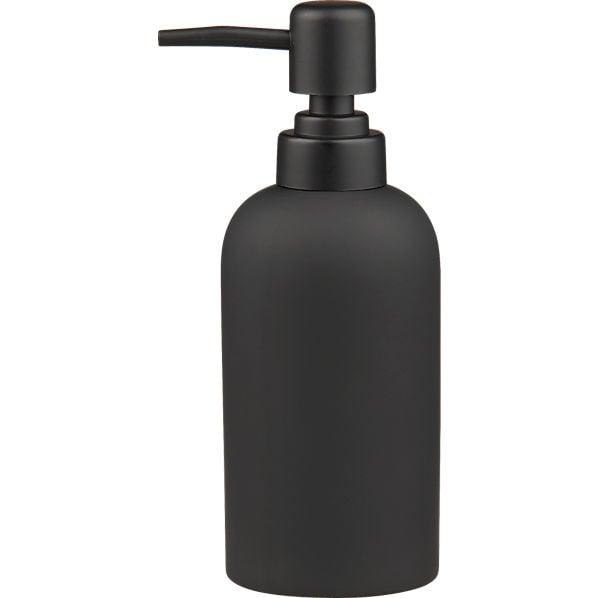 Black Rubber Soap Pump