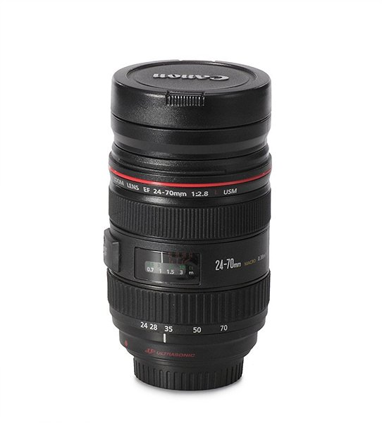 claybox canon lens mug the awesomer