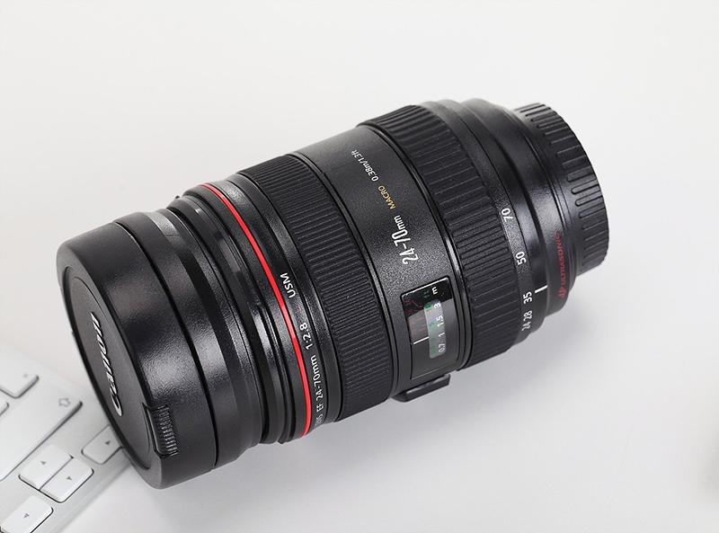 Claybox Canon Lens Mug