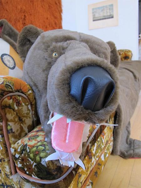 Faux Bear Throw