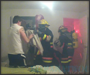 Wake-up Fire Prank