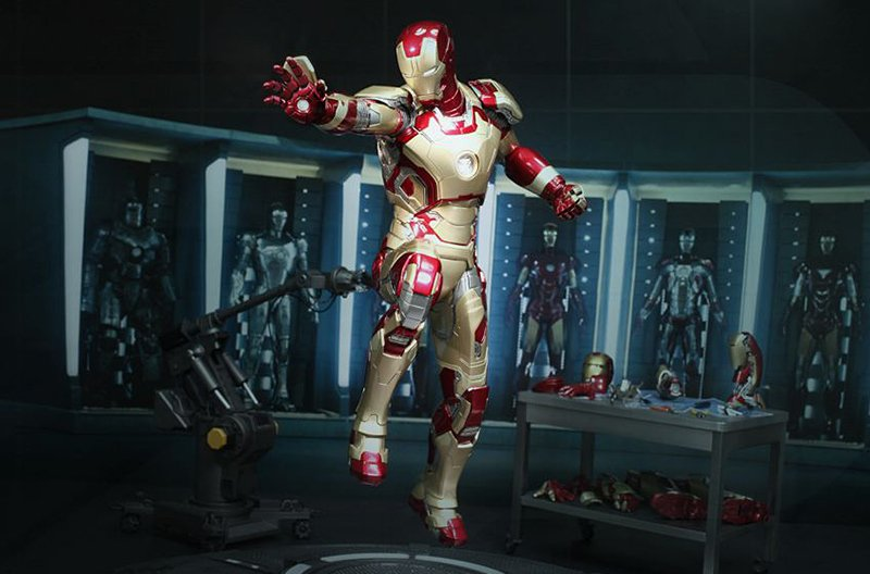 Hot Toys Iron Man Mk XLII