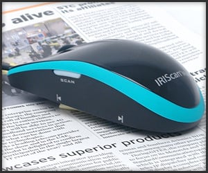 IRIScan Scanner Mouse