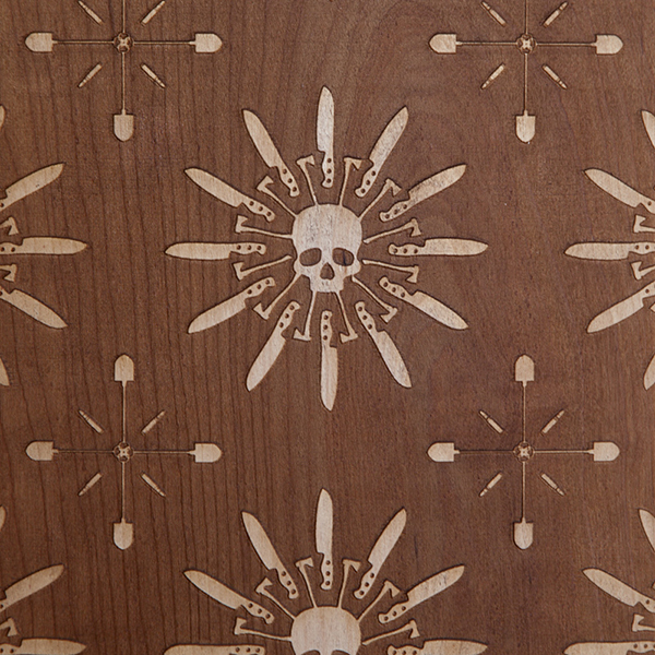 Laser Engraved Skate Decks