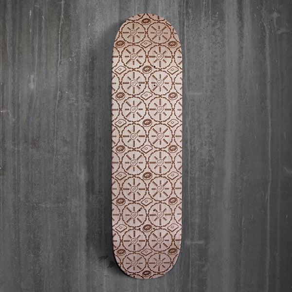 Laser Engraved Skate Decks
