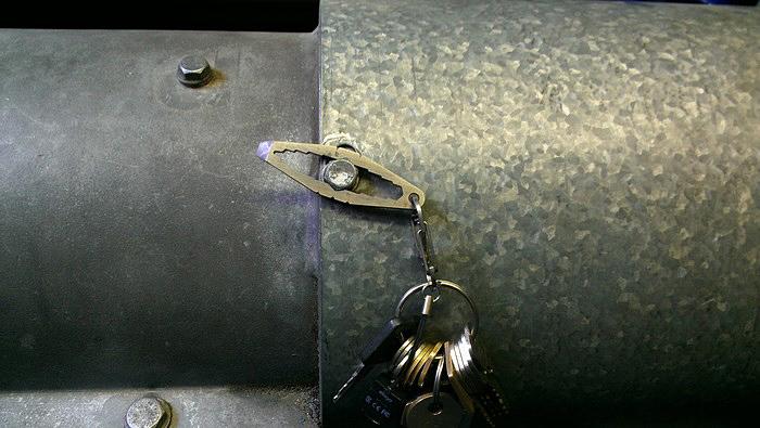 Mini Wrench Keychain
