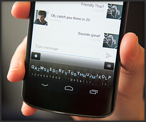 Minuum Virtual Keyboard