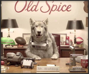 Old Spice: Wolfdog Fired