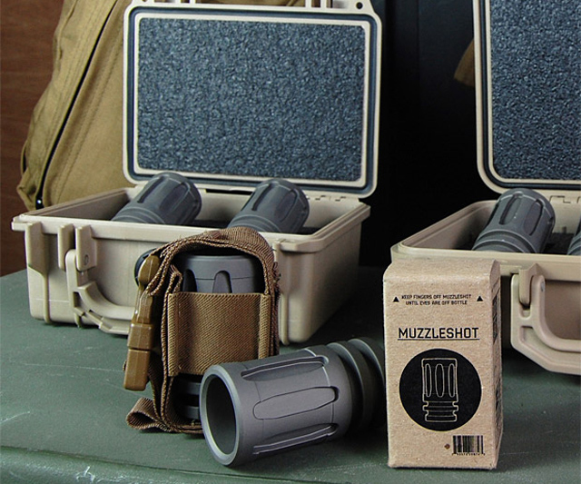 Muzzleshot Tactical Shot Glass