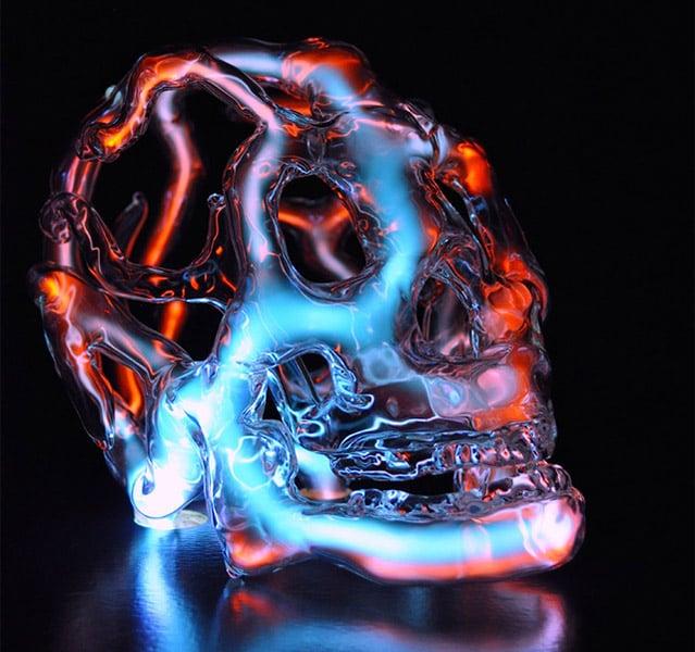 Neon Skull Lights