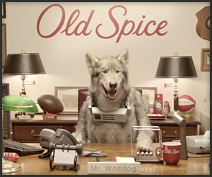 Old Spice: Meet the Wolfdog