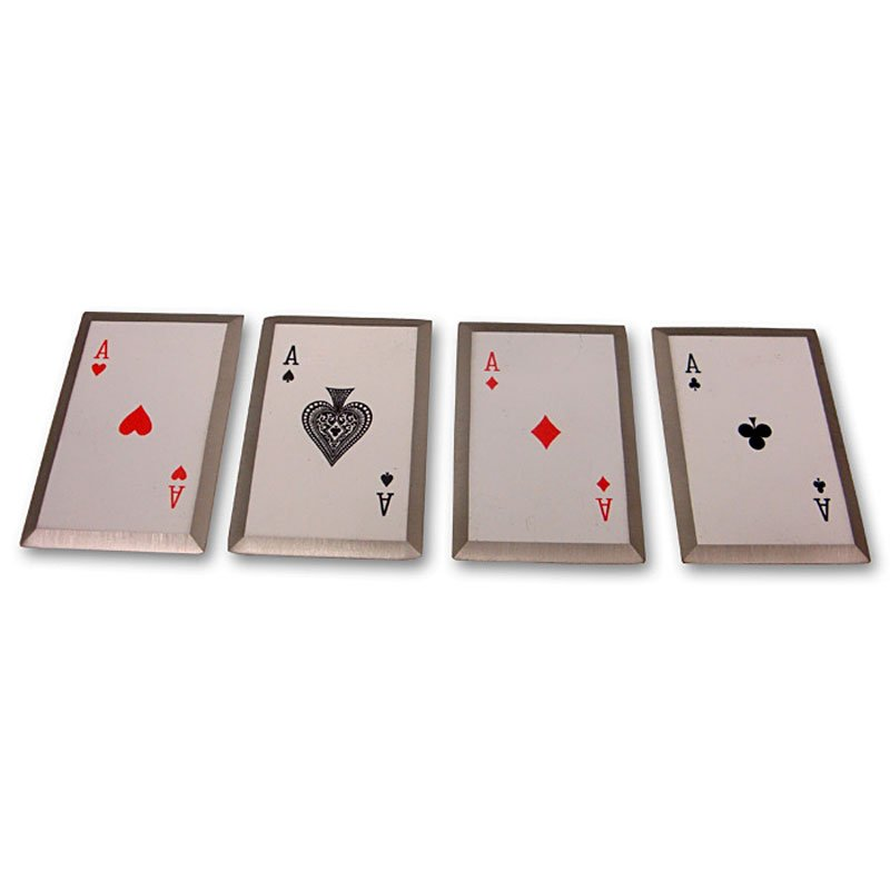 Steel-Edged Throwing Cards