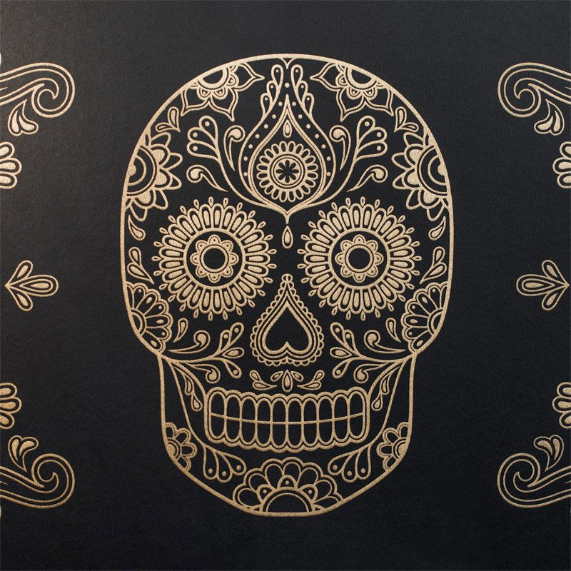 sugar skull wallpaper the awesomer
