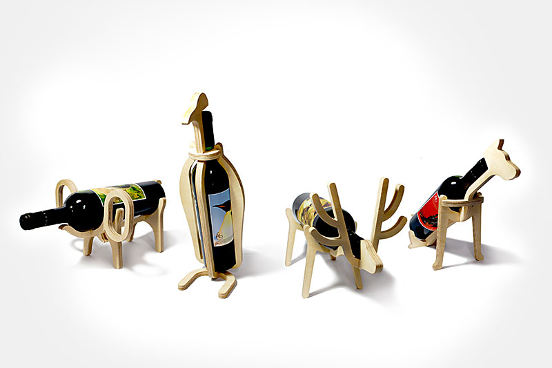 Animal Wine Rack