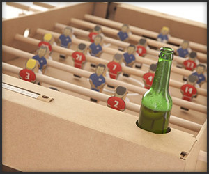 Cardboard Foosball Table