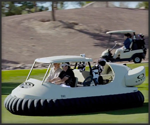 The Hover Golf Cart