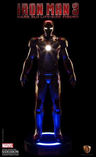 Iron Man Mk XLII Life-Size Figure