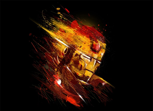 Threadless x Iron Man