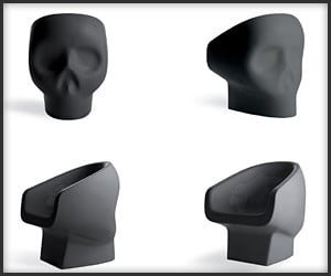 Jolly Roger Skull Chair