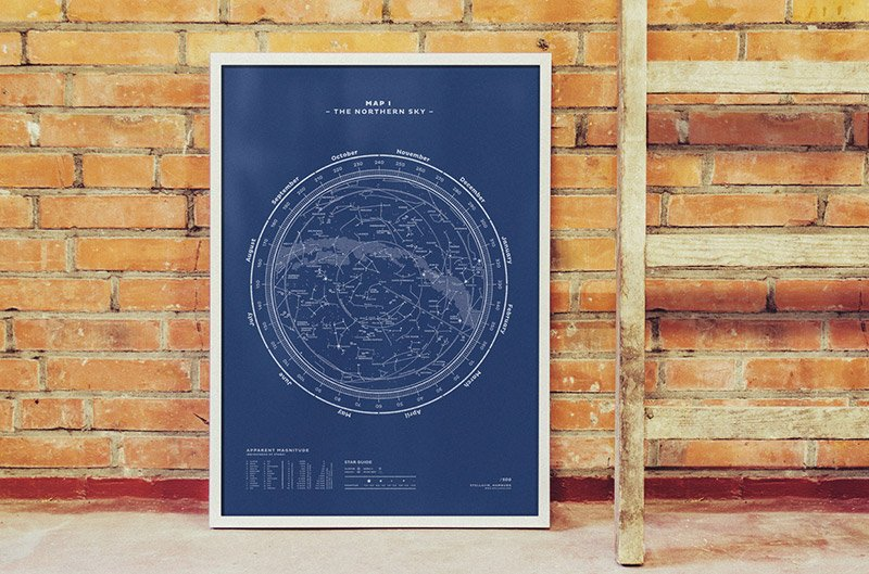 Stellavie Constellation Prints