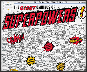 Omnibus of Superpowers T-Shirt