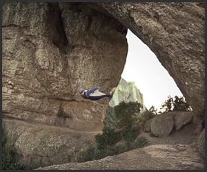 Wingsuit Cave Flight