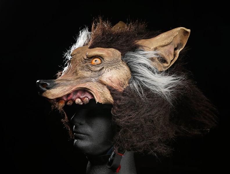 Wolf Helmet